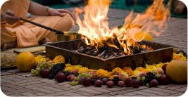 Проведение индивидуальных Ягий (Ведические церемонии) во Вриндаване