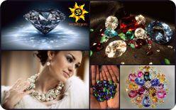 Подбор драгоценных и полудрагоценных камней